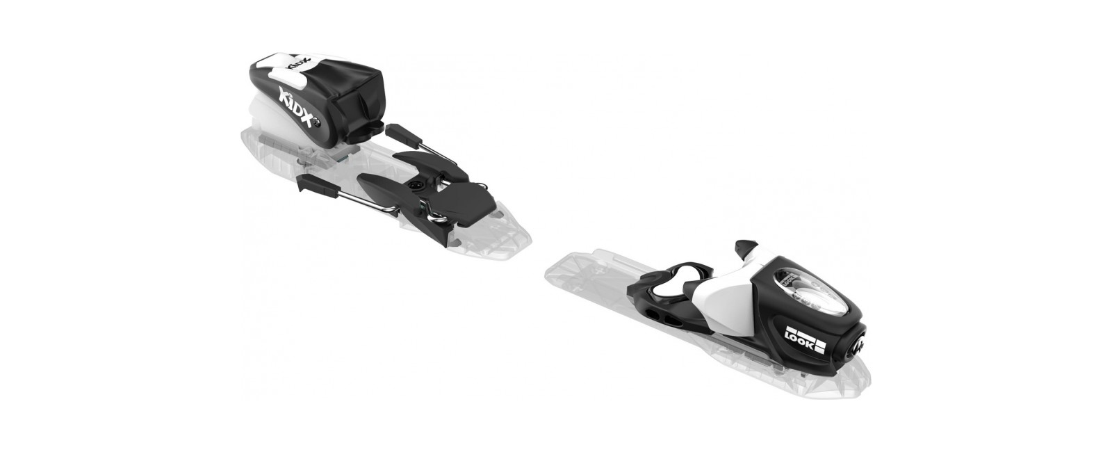 bindings KID-X 4 B76 BLACK WHITE