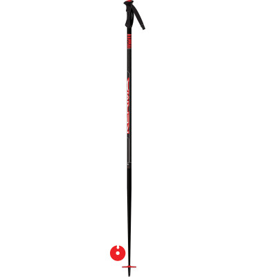poles VECTOR BLACK-RED