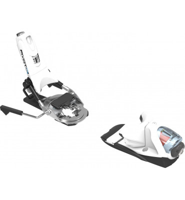 bindings PIVOT 14 DUAL WTR B95 WHITE ICON