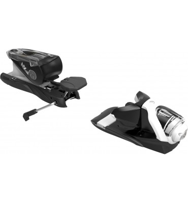 bindings NX 12 DUAL WTR B120 BLACK WHITE