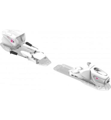bindings KID-X 4 B76 WHITE SILVER