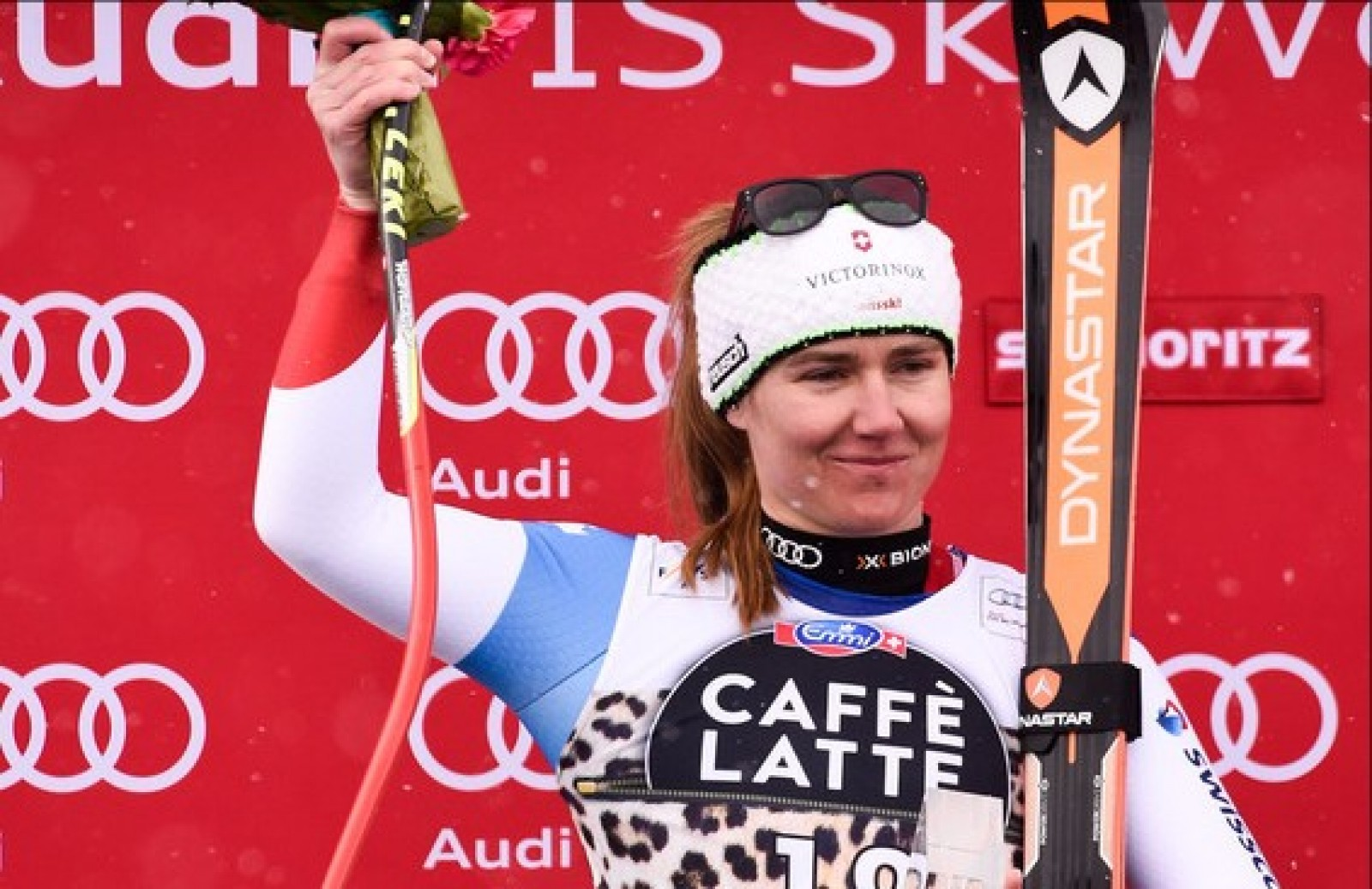 Fabienne Suter, 2nd of the Downhill World Cup
