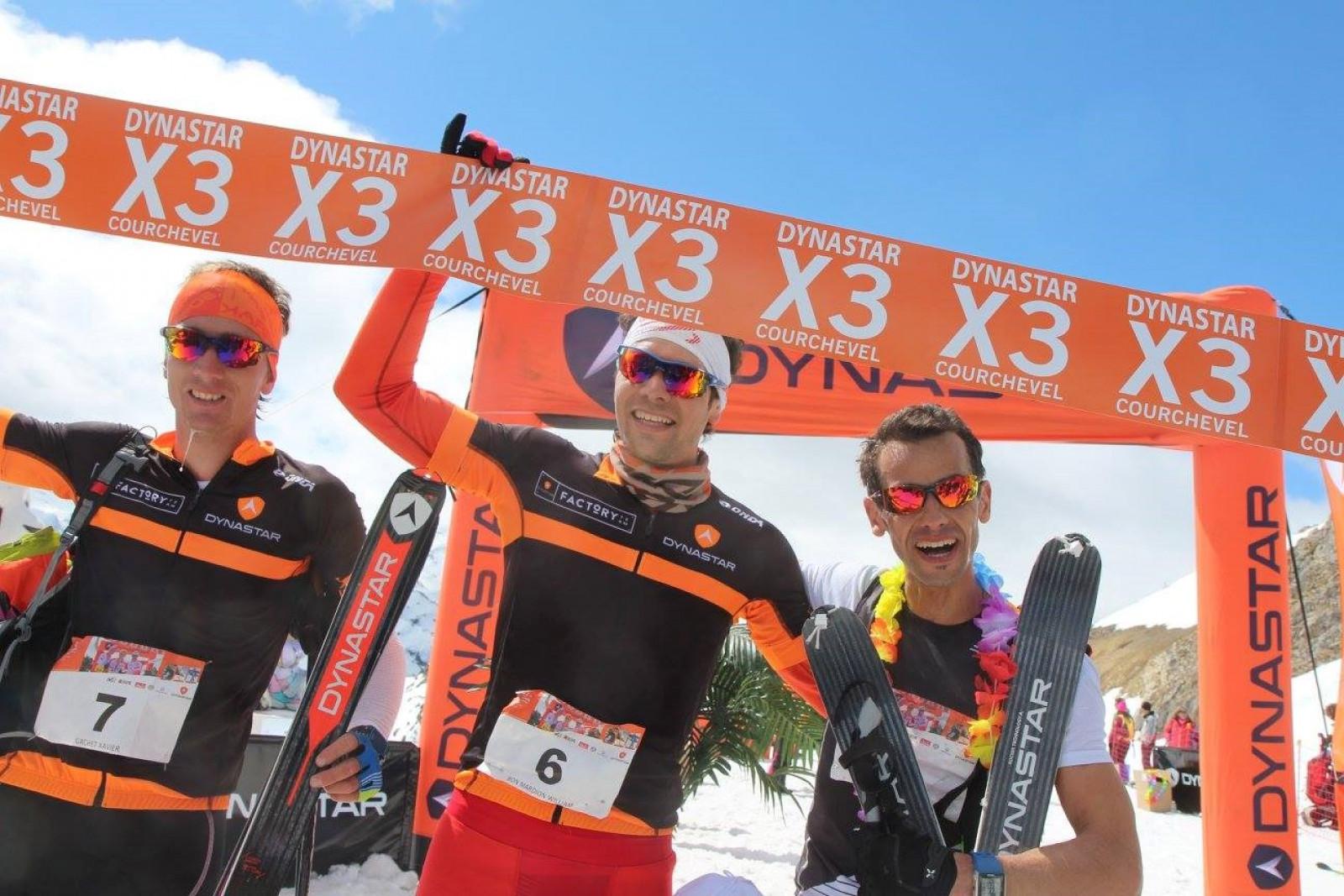 Dynastar X3® Courchevel : La chasse aux médailles pour le Factory Team !