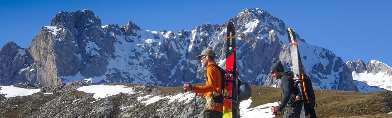Skiing in the Picos D' Europa